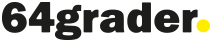 64grader webbyrå – mobilanpassad hemsida wordpress Logo
